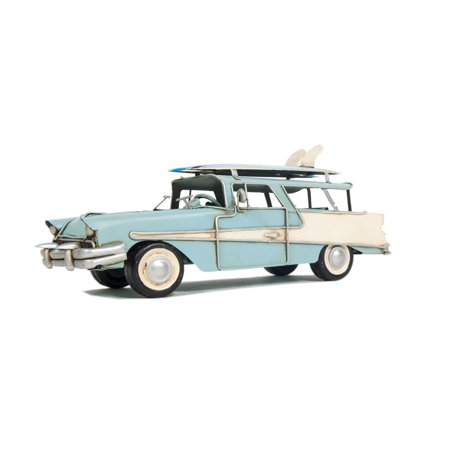 Old Modern Handicrafts 1957 Ford Country Squire Station Wagon Blue