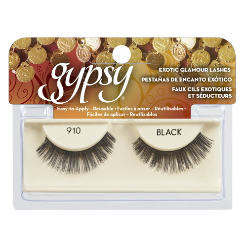 GYPSY LASHES False Eyelashes - 910 Black