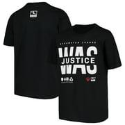 Washington Justice Youth Overwatch League Splitter T-Shirt - Black