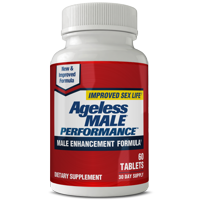 Ageless Male Performance - Non Prescription Male Enhancement - Support Blood Flow & Arousal
