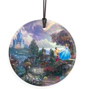 Trend Setters Thomas Kinkade (Cinderella Wishes Upon A Dream) StarFire Prints Wall D cor