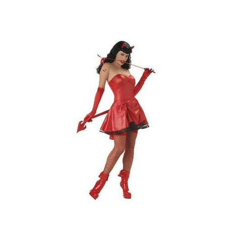 Bettie Page Don't Tread On Me Adult Costume (Wilson Don't Starve Costume)
