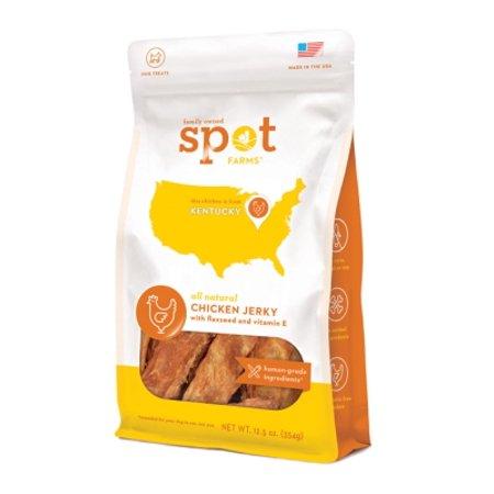Spot Farms poulet sans grains Jerky avec Treat Graine de lin et la vitamine E chien, 12,5 oz
