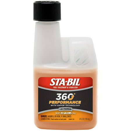 STA-BIL (22266) 360 Performance, Fuel Treatment and Stabilizer, 4 fl