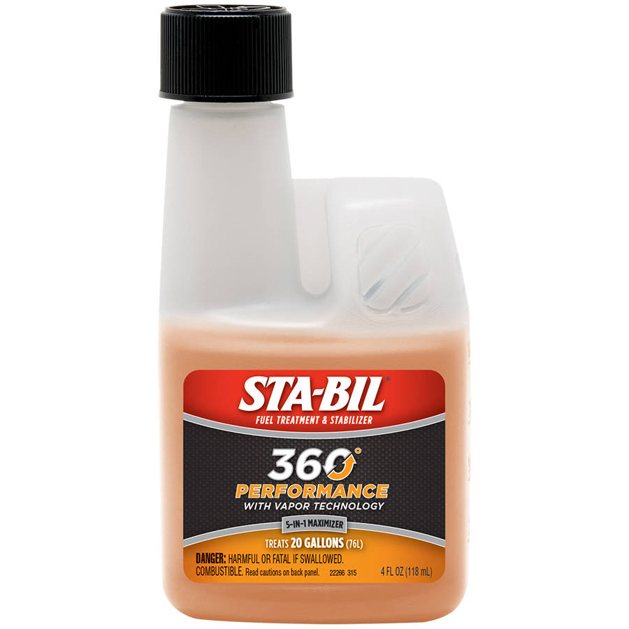 STA-BIL® (22266) 360°® Performance™, Fuel Treatment and Stabilizer, 4 fl oz