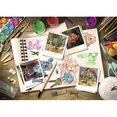 Ravensburger - Wm Sketches - 1000 Piece Jigsaw Puzzle Ravensburger Puzzle Accessories