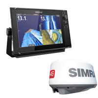 "Simrad 000-13792-001 NSS12 evo3 12"" Multifunction Display with Insight Charts & 4G Broadband Radar"