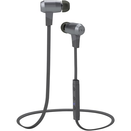 NuForce BE6I-GREY BE6i Bluetooth Audiophile In-Ear Headphones (Gray)