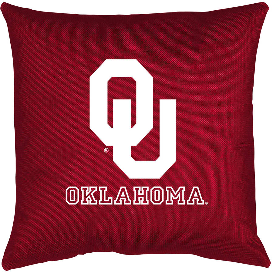 NCAA University of Oklahoma Locker Room Toss Pillow