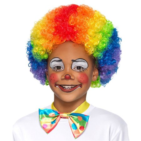 Clown Wig Child Costume (Kid's Clown Wig)