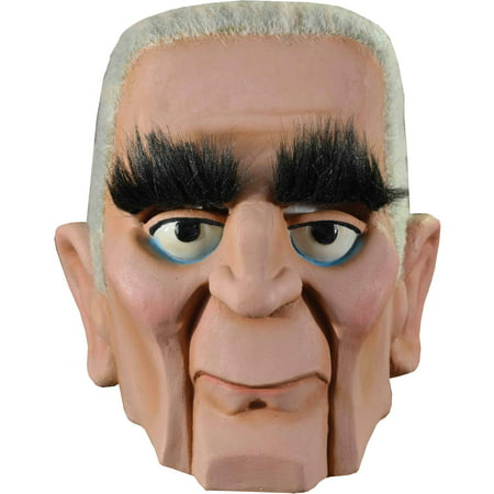 Mad Monster Party Baron Von Frankenstein Mask Adult Halloween Accessory - Halloween Adult Parties