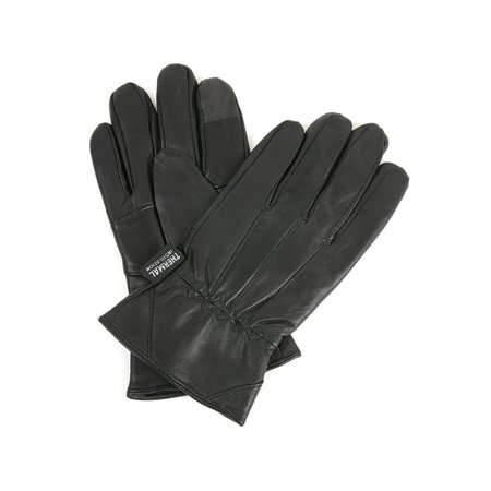 Ladies Leather Driving Gloves - Alpine Swiss Mens Touch Screen Gloves Leather Thermal Lined Phone Texting Gloves