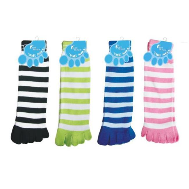 Bulk Buys Ladies Toe Socks - Case of 72