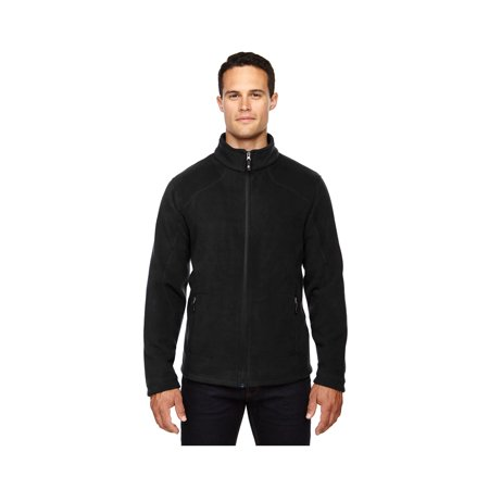 North End Men'sTricot Lined Zipper Tall Fleece Jacket, Style 88172T