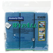 "Wypall Bathroom Cleaner - Cloth15.75"" Width X 15.75"" Length - 6 / Carton - Blue (83620ct)"