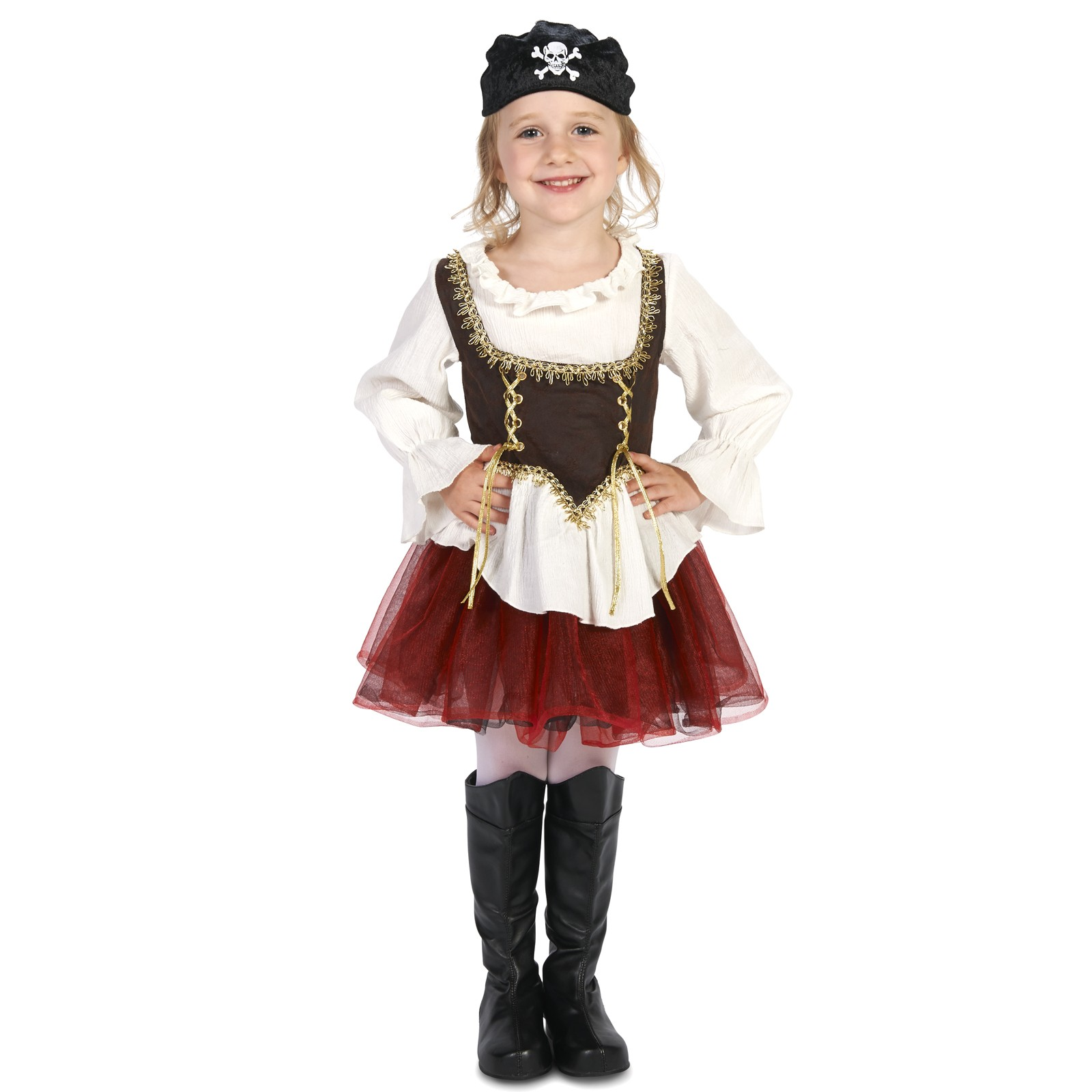 Pirate Tutu Girl Costume by DreamWeaversCostumer