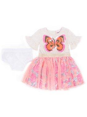 aae24ff562 Product Image Short Sleeve Jersey & Tulle Sparkle Tutu Dress (Baby Girls &  Toddler Girls). Product TitleLittle LassShort ...