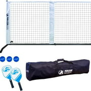 Park & Sun Sports 21' Portable Pickleball and Tennis Play Outdoor Game Net & Set