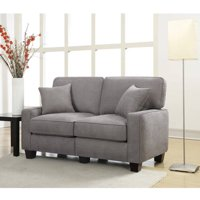 "Serta RTA Palisades Collection 61"" Loveseat, Multiple Colors"
