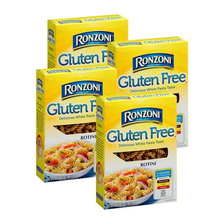 (4 Pack) Ronzoni Gluten Free Rotini, 12 oz. Box