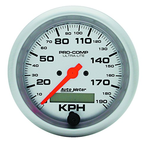 Auto Meter 4487-M Ultra-Lite In-Dash Electric Speedometer
