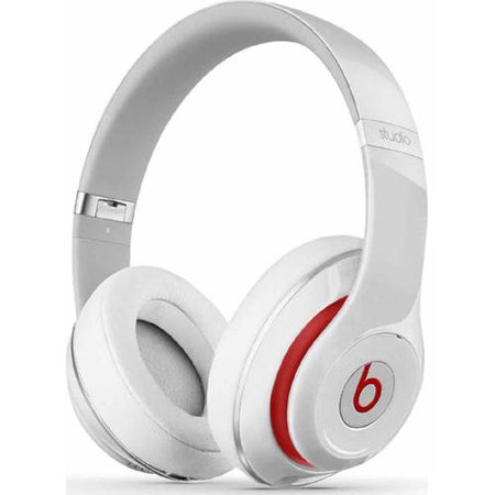 e1848b45eb46 Beats by Dr. Dre Studio Wired Over-Ear Headphones - White - Walmart.com