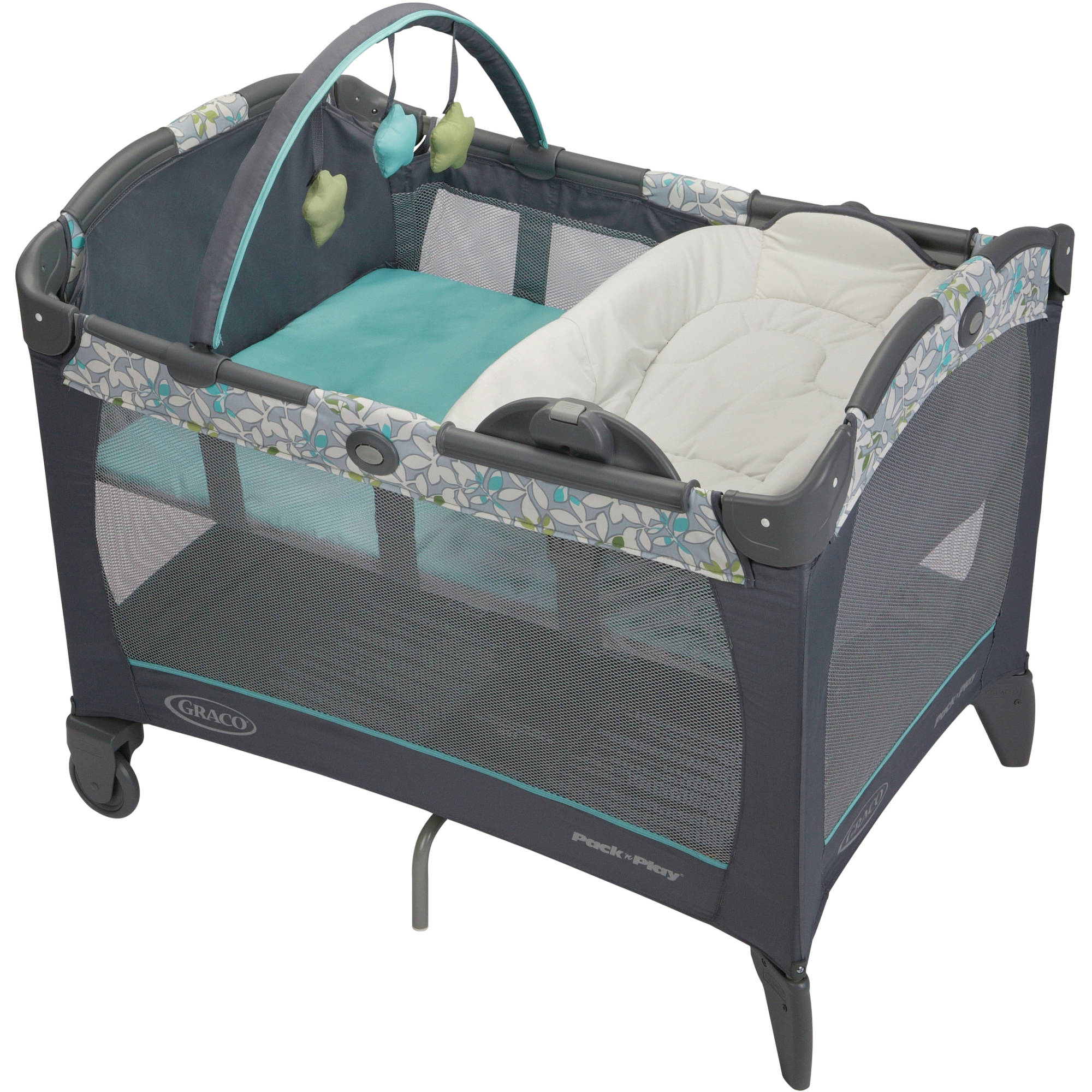 Graco Pack 'N Play Playard with Reversible Napper and Changer, Harvest