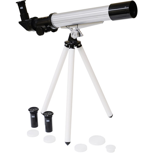 Elenco Mobile 20x 30x 40x 30mm Astronomical Telescope with Tripod by Elenco