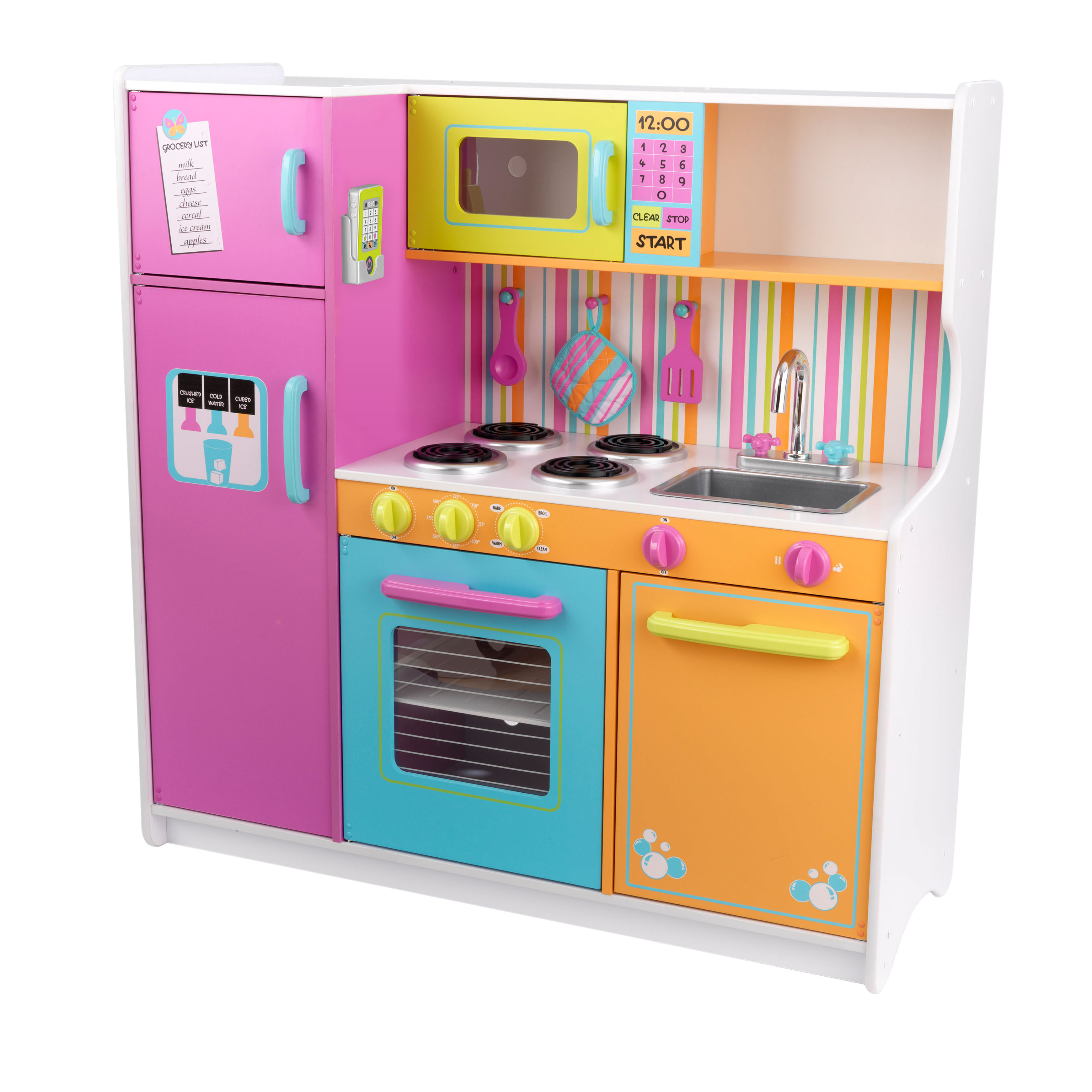 Kidkraft Kitchen kidkraft deluxe big and bright kitchen - walmart