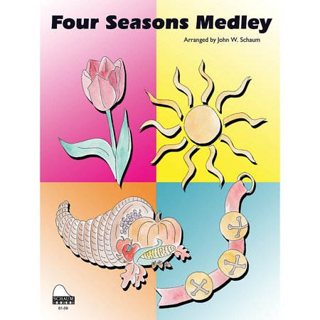 SCHAUM Four Seasons Medley Educational Piano Series Softcover](Halloween Piano Medley)