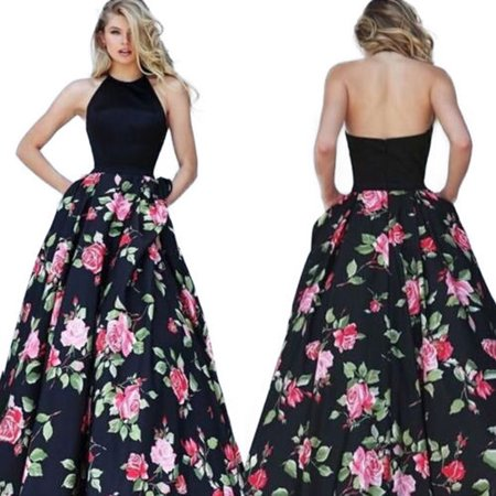 Womens Long Formal Prom Dress Cocktail Party Ball Gown Evening Bridesmaid Dress Sleeveless - Ball Gowns For Adults