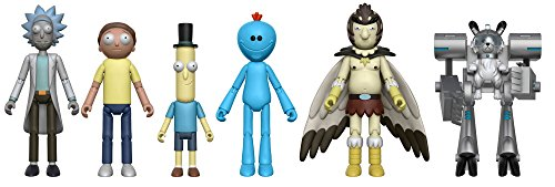 Rick and Morty 5�� Action Figures Set of 5 (+Snowball) by Funko