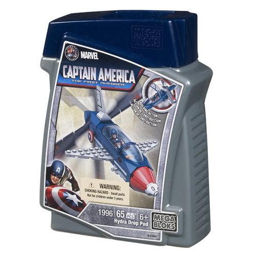 Mega Brands Marvel Captain America DropPod