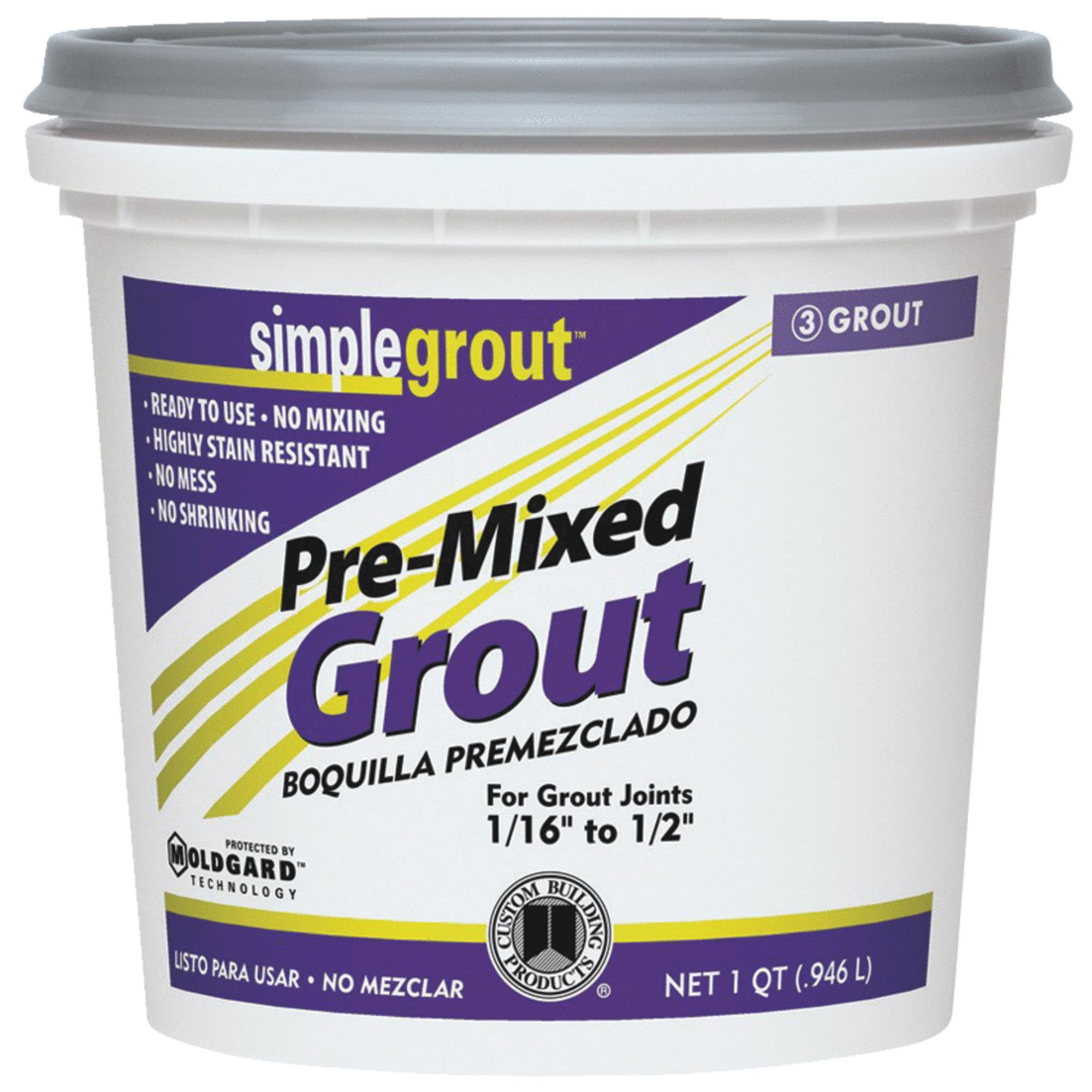 Custom Building Products Simplegrout Tile Grout