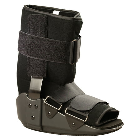 otc valuline low top walker boot, black, (Walker Boot Low Top)