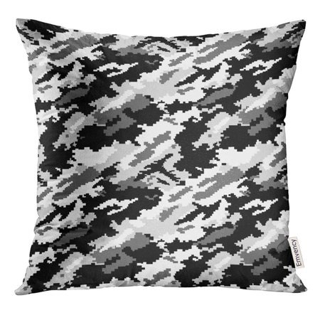 Urban Camouflage Glass Tile (CMFUN Navy Camo Second of Urban Digital Camouflage Black Pillow Case 20x20 Inches Pillowcase)