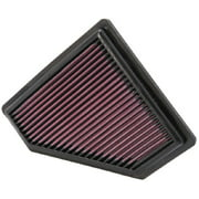 K&N Engine Air Filter: High Performance, Premium, Washable, Replacement Filter: 2008-2011 FORD (Focus), 33-2401