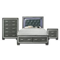 Picket House Furnishings Kenzie King Storage 3PC Bedroom Set