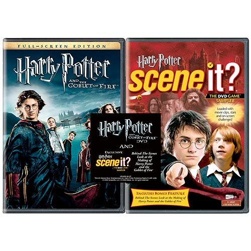 Harry Potter And The Goblet Of Fire (Exclusive) (With Game Sampler) (Widescreen)
