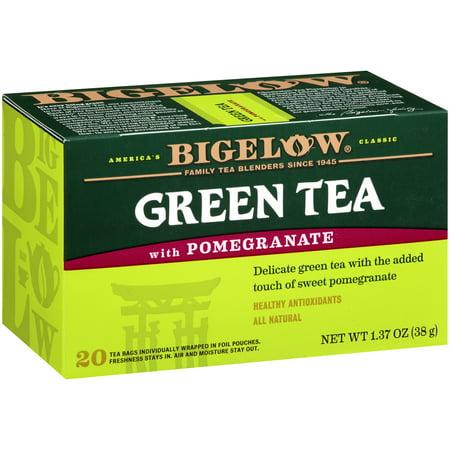Bigelow ® thé vert avec grenade 1,37 oz Boîte
