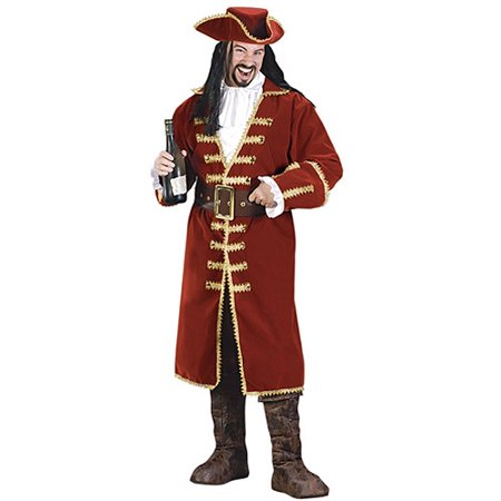 Pirate Captain Adult Halloween Costume (Pirate Costume Party City)