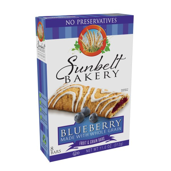 Sunbelt Bakery Family Pack Blueberry Fruit & Grain Bars, 11 oz