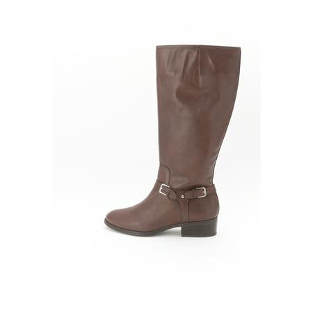 Ralph Lauren Womens Marion Wide Calf Boots