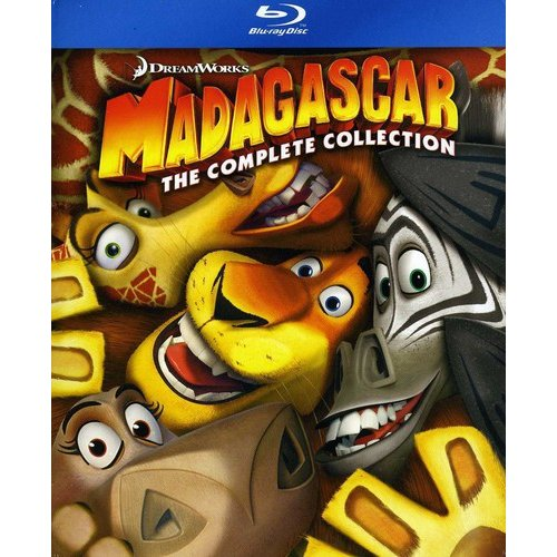 Madagascar Collection: Madagascar / Escape 2 Africa / Europe's Most Wanted (Blu-ray) (Widescreen)