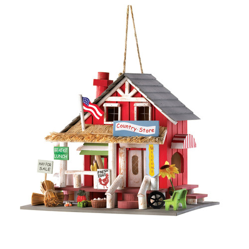 Zingz & Thingz Down Home General Store 9 in x 7 in x 10.5 in Birdhouse by Zingz & Thingz
