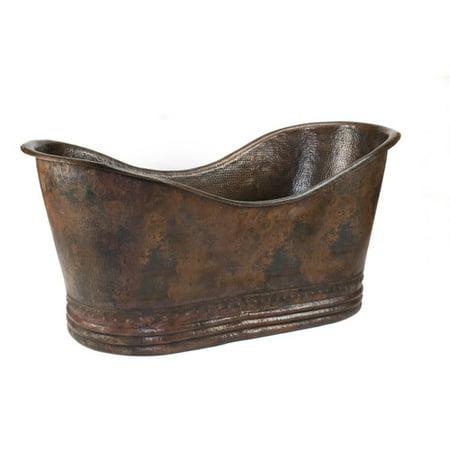 premier copper double soaking bathtub