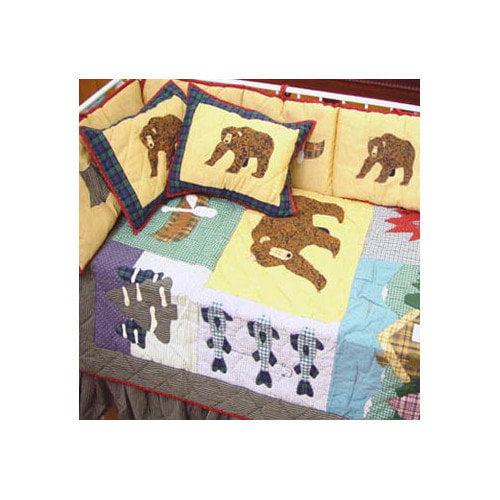 Patch Magic Cabin 9 Piece Crib Bedding Set