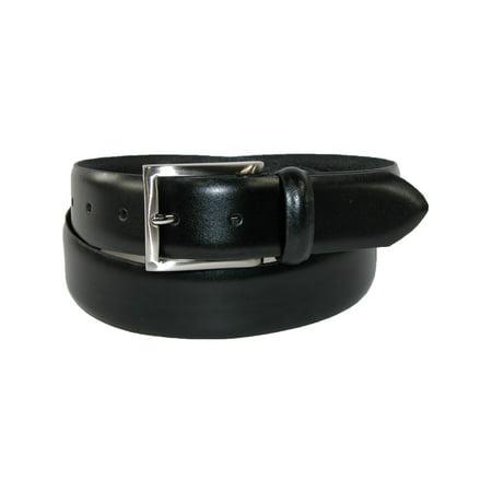 Men's Italian Leather 1 3/8 Inch Padded Dress Belt - Italian Dress Belt