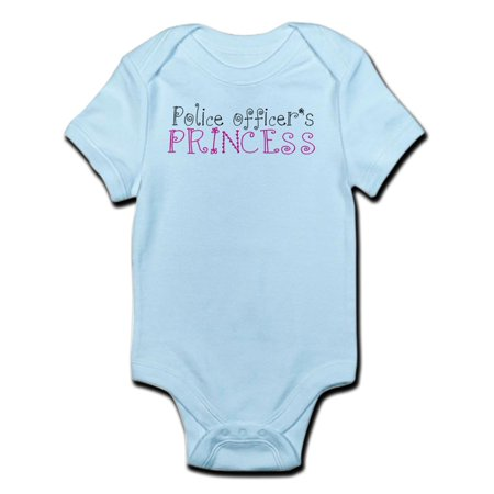 CafePress - Police Officer's Princess Infant Bodysuit - Baby Light Bodysuit](Princess Peach Onesie)