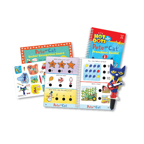 Educational Insights Hot Dots Jr Pete Cat Preschool Rocks Set by Educational Insights